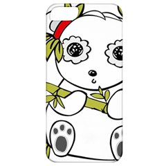 Panda China Chinese Furry Apple Iphone 5 Classic Hardshell Case