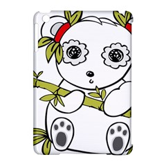 Panda China Chinese Furry Apple Ipad Mini Hardshell Case (compatible With Smart Cover)