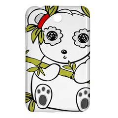 Panda China Chinese Furry Samsung Galaxy Tab 3 (7 ) P3200 Hardshell Case