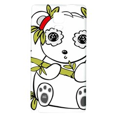 Panda China Chinese Furry Galaxy Note 4 Back Case