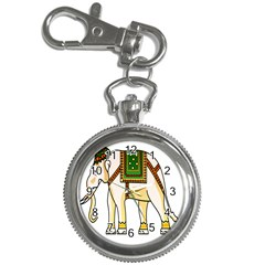 Elephant Indian Animal Design Key Chain Watches