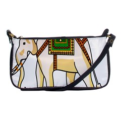 Elephant Indian Animal Design Shoulder Clutch Bags