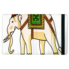 Elephant Indian Animal Design Apple Ipad 2 Flip Case