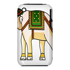 Elephant Indian Animal Design Iphone 3s/3gs