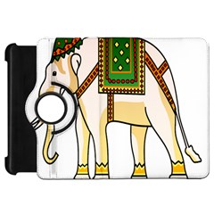 Elephant Indian Animal Design Kindle Fire Hd 7