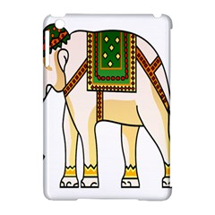 Elephant Indian Animal Design Apple Ipad Mini Hardshell Case (compatible With Smart Cover)
