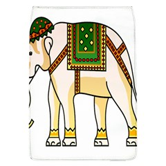 Elephant Indian Animal Design Flap Covers (l)