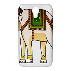 Elephant Indian Animal Design Samsung Galaxy Mega 6 3  I9200 Hardshell Case