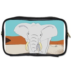 Africa Elephant Animals Animal Toiletries Bags 2 Side