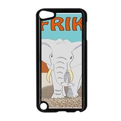 Africa Elephant Animals Animal Apple Ipod Touch 5 Case (black)
