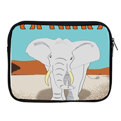 Africa Elephant Animals Animal Apple Ipad 2/3/4 Zipper Cases