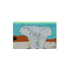 Africa Elephant Animals Animal Cosmetic Bag (xs)