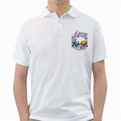 Flowers Floral Flowery Spring Golf Shirts