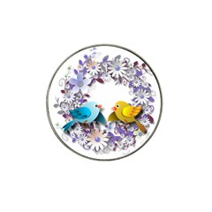 Flowers Floral Flowery Spring Hat Clip Ball Marker