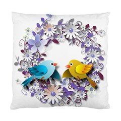 Flowers Floral Flowery Spring Standard Cushion Case (one Side)
