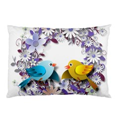 Flowers Floral Flowery Spring Pillow Case