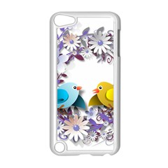 Flowers Floral Flowery Spring Apple Ipod Touch 5 Case (white)