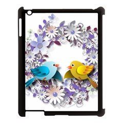 Flowers Floral Flowery Spring Apple Ipad 3/4 Case (black)