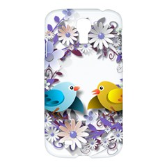 Flowers Floral Flowery Spring Samsung Galaxy S4 I9500/i9505 Hardshell Case