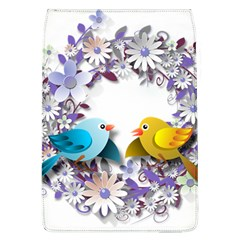 Flowers Floral Flowery Spring Flap Covers (l)