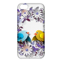 Flowers Floral Flowery Spring Apple Iphone 5c Hardshell Case