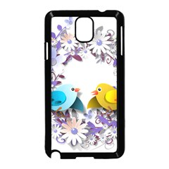Flowers Floral Flowery Spring Samsung Galaxy Note 3 Neo Hardshell Case (black)