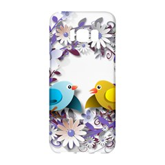 Flowers Floral Flowery Spring Samsung Galaxy S8 Hardshell Case