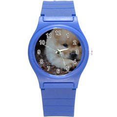 Puppy Chow Chow Round Plastic Sport Watch (s)