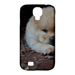 Puppy Chow Chow Samsung Galaxy S4 Classic Hardshell Case (pc+silicone)