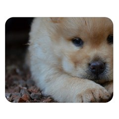 Puppy Chow Chow Double Sided Flano Blanket (large)
