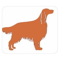 Irish Setter Silo Color Double Sided Flano Blanket (small)