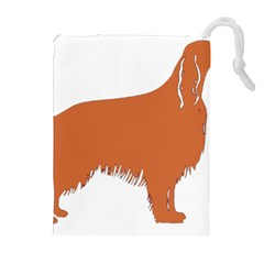Irish Setter Silo Color Drawstring Pouches (extra Large)
