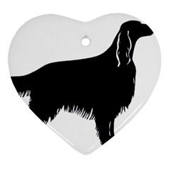 Irish Setter Silo Ornament (heart)
