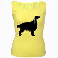 Irish Setter Silo Women s Yellow Tank Top
