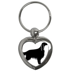 Irish Setter Silo Key Chains (heart)