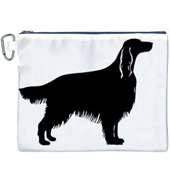 Irish Setter Silo Canvas Cosmetic Bag (xxxl)