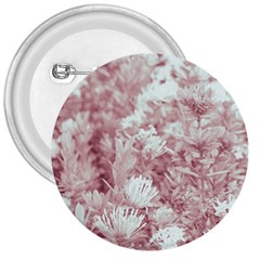 Pink Colored Flowers 3  Buttons