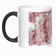 Pink Colored Flowers Morph Mugs
