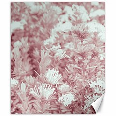 Pink Colored Flowers Canvas 20  X 24
