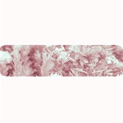 Pink Colored Flowers Large Bar Mats