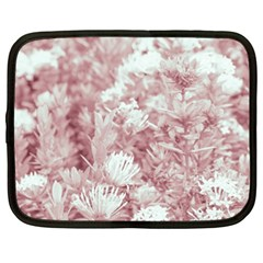 Pink Colored Flowers Netbook Case (xl)