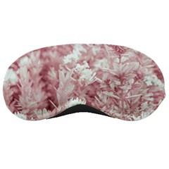 Pink Colored Flowers Sleeping Masks