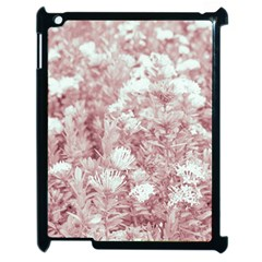 Pink Colored Flowers Apple Ipad 2 Case (black)
