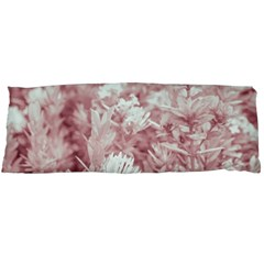Pink Colored Flowers Body Pillow Case Dakimakura (two Sides)