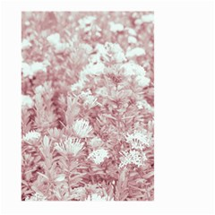 Pink Colored Flowers Large Garden Flag (two Sides)