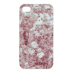 Pink Colored Flowers Apple Iphone 4/4s Premium Hardshell Case