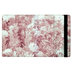 Pink Colored Flowers Apple Ipad 2 Flip Case