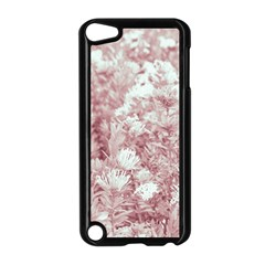 Pink Colored Flowers Apple Ipod Touch 5 Case (black)