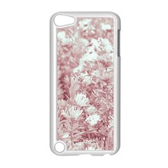 Pink Colored Flowers Apple Ipod Touch 5 Case (white)