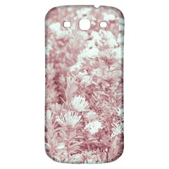 Pink Colored Flowers Samsung Galaxy S3 S Iii Classic Hardshell Back Case